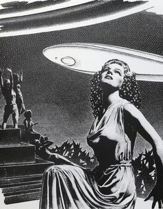 Virgil Finlay B&W II - a gallery on Flickr