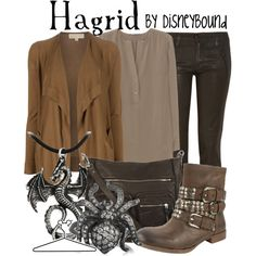 """Hagrid"" by lalakay on Polyvore"