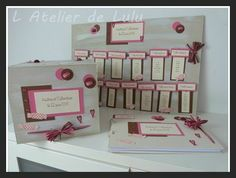 Livre d 39 or et boite dons urne mariage th me gourmandise for Table theme gourmandise