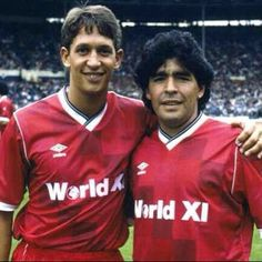 Maradona and Lineker  Football Uniforms f9884aace