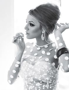 Blake Lively in Glamour