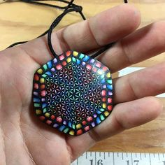 Midweek pendant auction!! Up for grabs is this polymer clay rainbow flower of life murrini pendant!  Starts at $0 Increments of $1 BIN $75  Auction ends when I call it. Please include $5 for shipping in the US and $8 for international. If BIN I will cover shipping👍  Winner please ready with payment within 24 hours of auction close, I will ship with in 24 hours of payment.  Good luck and thanks for looking🙏  #floweroflife #rainbow #spiral #sacredgeometry #pendant #jewelry #handmade…