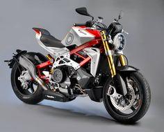 Bimota with a Supercharged Ducati Testastretta engine. Impeto.