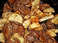 Brassói, ahogy mi szeretjük | kerbicid receptje - Cookpad receptek Pork, Food And Drink, Sweets, Chicken, Recipes, Kale Stir Fry, Gummi Candy, Candy, Rezepte