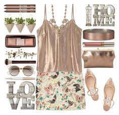 """""""Perfect Day"""" by grozdana-v ❤ liked on Polyvore featuring Jimmy Choo, Abercrombie & Fitch, Christian Dior, Swarovski, Hourglass Cosmetics, Dot & Bo, Natasha Accessories, Umbra and Urban Decay"""
