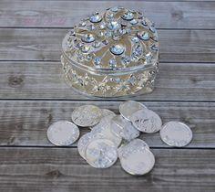 Unidad monedas Arras de boda, Arras de Boda, Arras, monedas de boda, Arras para Boda de novia