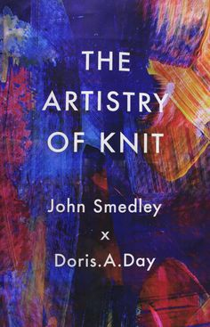Created by Tenn Ltd For John Smedley - The Artistry Of Knit Window. Painterly Printed Graphic Banner