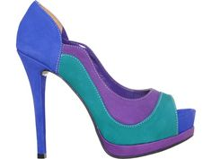 Via Marte #colorblocking #heels