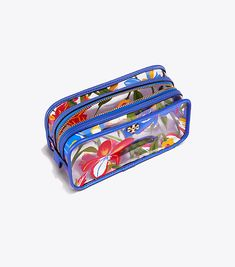 Tory Burch Floral Cosmetic Case   Tory Burch