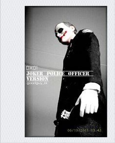joker police officer version