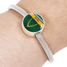 Kerry Luxury Round Charm Bracelet – luxuryeire.com - perfect gift for GAA fans