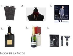 Moda de la Mode: Menswear Monday: Presents For The Tricky Man