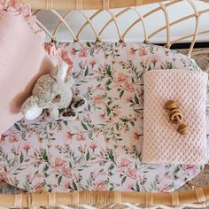 OurWattle Fitted Bassinet Sheetcan also be used as aChange Pad Coverandis made from snuggly softstretch...