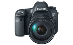 The Canon EOS 6D is one of the first DSLRs to have built-in Wi-Fi and GPS.