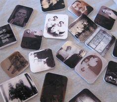 ancestor charms using Shrinky-dink inkjet paper