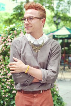 Fashion blogger Justin Livingston of Munrowe