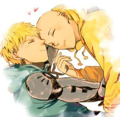 Saitama  Genos  Anyone else ship them here?   [ #OnePunchMan ]