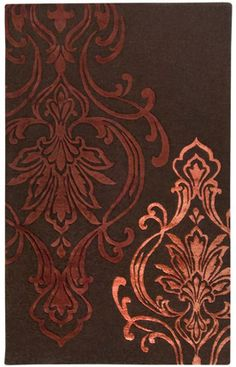 """Surya Candice Olson- THIS might make us reconsider wallpaper.  It's coming back-yo!  Think """"impact or statement wall""""."""