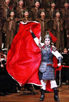 Mulan Opera makes its debut in Tokyo, China News