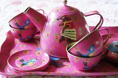 Pink Elephant Teaset