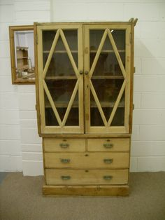 (RESTORATION PROJECT) ANTIQUE PINE CHEST DRAWERS WITH DRESSER TOP - £250 http://www.drabtofabfurniture.co.uk/non-painted-furniture/