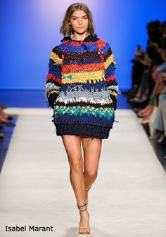 Knits on the Runway - Spring 2012 love this one