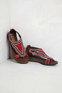 Anthropologie - Nairobi Sandals