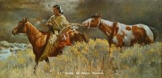 """Raiders Prize""Native American Prints by J. Hester kK"