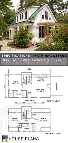 Sims 4 House Plans, Sims House, Dream House Plans, Small House Plans, Small Cottage House Plans, Small Cottage Homes, Br House, House Blueprints, Small House Design