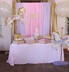 Carousel Birthday Party Ideas | Photo 2 of 10
