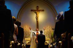 A catholic wedding ceremony in Staffordshire, England. Shaun Taylor Photography