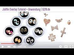 #Jolifin #Overlay Tutorial + Anwendung by GDN.de --> http://www.german-dream-nails.com/nailart/trend-nailart/jolifin-inlays #nails #nailart #naildesign #nailart