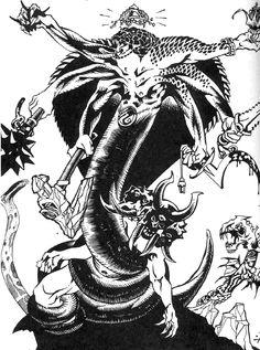 Nagah - White Wolf, World of Darkness.
