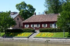 The Qwensel House, with the Pharmacy Museum, Turku, Finland
