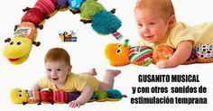 JUGUETES PARA BEBES ESTIMULACION TEMPRANA   El Lamaze Musical Inchworm está llena de sorpresas donde el bebé podrá desc...