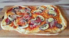 Chefkoch.de Rezept: Marinas Pizzateig mit Backpulver
