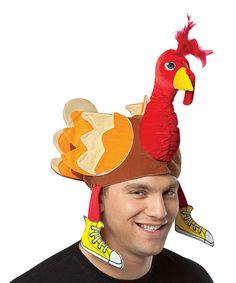 Look at this #zulilyfind! Red Turkey Hat #zulilyfinds