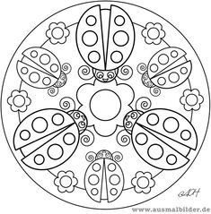 Tattoo Mandala Designs Coloring Pages Adult Coloring Pages, Spring Coloring Pages, Mandala Coloring Pages, Coloring For Kids, Colouring Pages, Coloring Sheets, Coloring Books, Doodle Patterns, Mosaic Patterns
