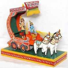 Artisans use wood to make toys of various sizes and shapes. With excellent quality, wooden toys have been a popular attraction among the kids. There is an extensive range of quality wooden toys such as Channapatna Toys, Wooden Cars, Phonetics Set and much more is available to give a sense of excitement to your kid.
