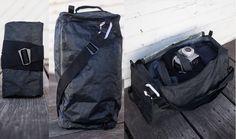 D3 Traveller Duffel    via Carryology