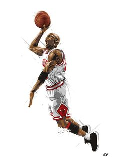 Michael 'Air' Jordan by earlsonvios on deviantART