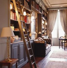 English Library and office, amazing!