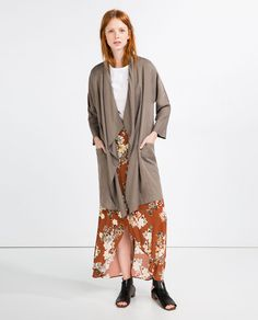 Image 1 of FLOWING TRENCH COAT from Zara