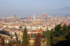 Florence is the capital city of the Italian region of Tuscany and of the province of Florence. Photo by Leonid.