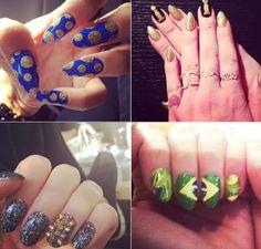Glitter nas unhas: celebridades apostam na nail art brilhante Faça que nem as famosas e invista nas unhas personalizadas com muuuito brilho. Confira!  http://revistaglamour.globo.com/Beleza/Unhas/noticia/2014/05/glitter-nas-unhas-celebs-apostam-na-nail-art-brilhante.html