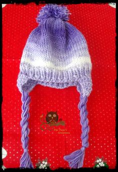 Knitted children's hat !!! Scarves, Winter Hats, Recipes, Scarfs