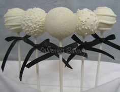 Special Listing for Wedding Cake Pops by TheLollicakesBakery