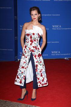 Emma WatsonUna mujer que ha regresado los pantalones a la Alfombra Roja con rotundo exito