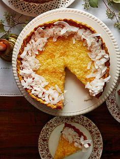 Lemon-Coconut Tart Recipe - Country Living