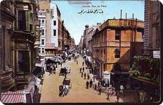 Istiklal caddesi 1890lar